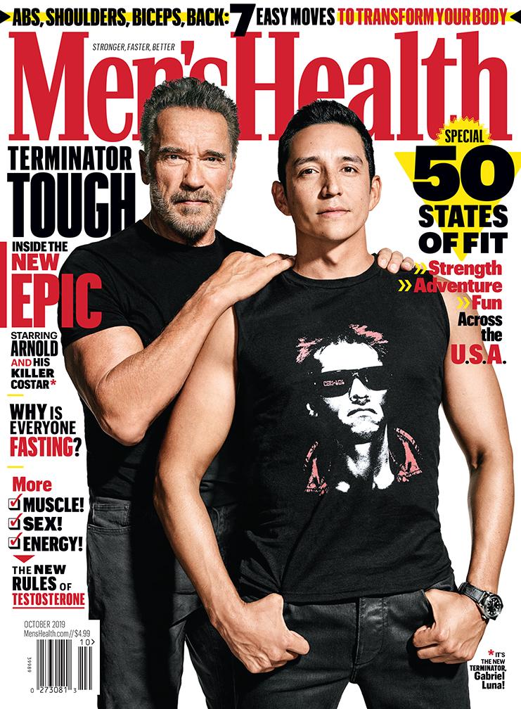 Arnold Schwarzenegger & Gabriel Luna