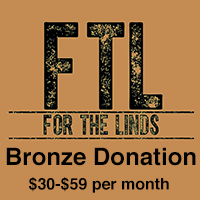 Bronze Donation $30-$59 monthly