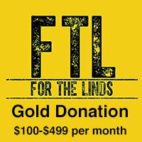 Gold Donation $100-$499 monthly