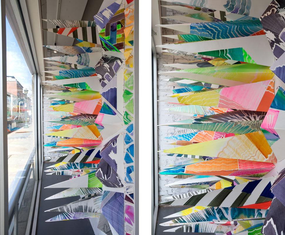 Paper Over , Artspace, New Haven. Photographer: Jessica Smolinksi