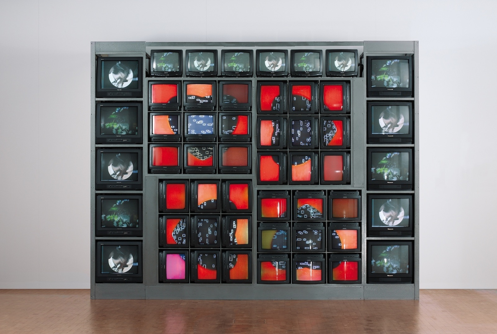 Nam June Paik.  Internet Dream , 1994. Credit:  ICA Boston
