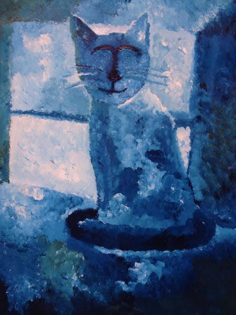 Blå kat Nr. 2