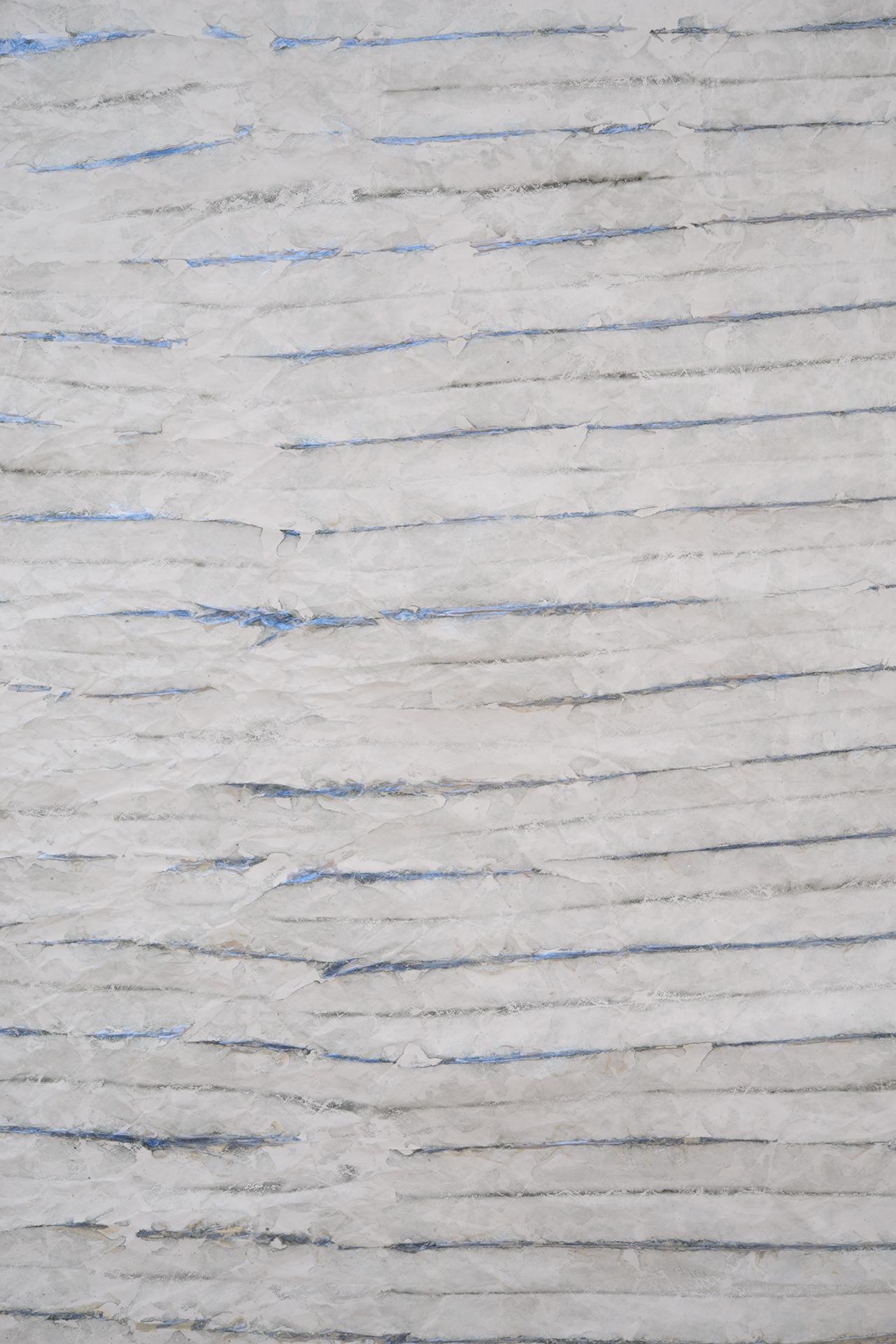 Grey Shibori detail