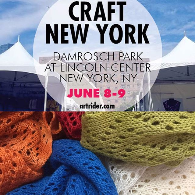 Lfabrika will be in NYC!  Visit us at booth F601 #lacelinen#summerscarves#knittedscarves #artridercrafts #lincolncenternyc