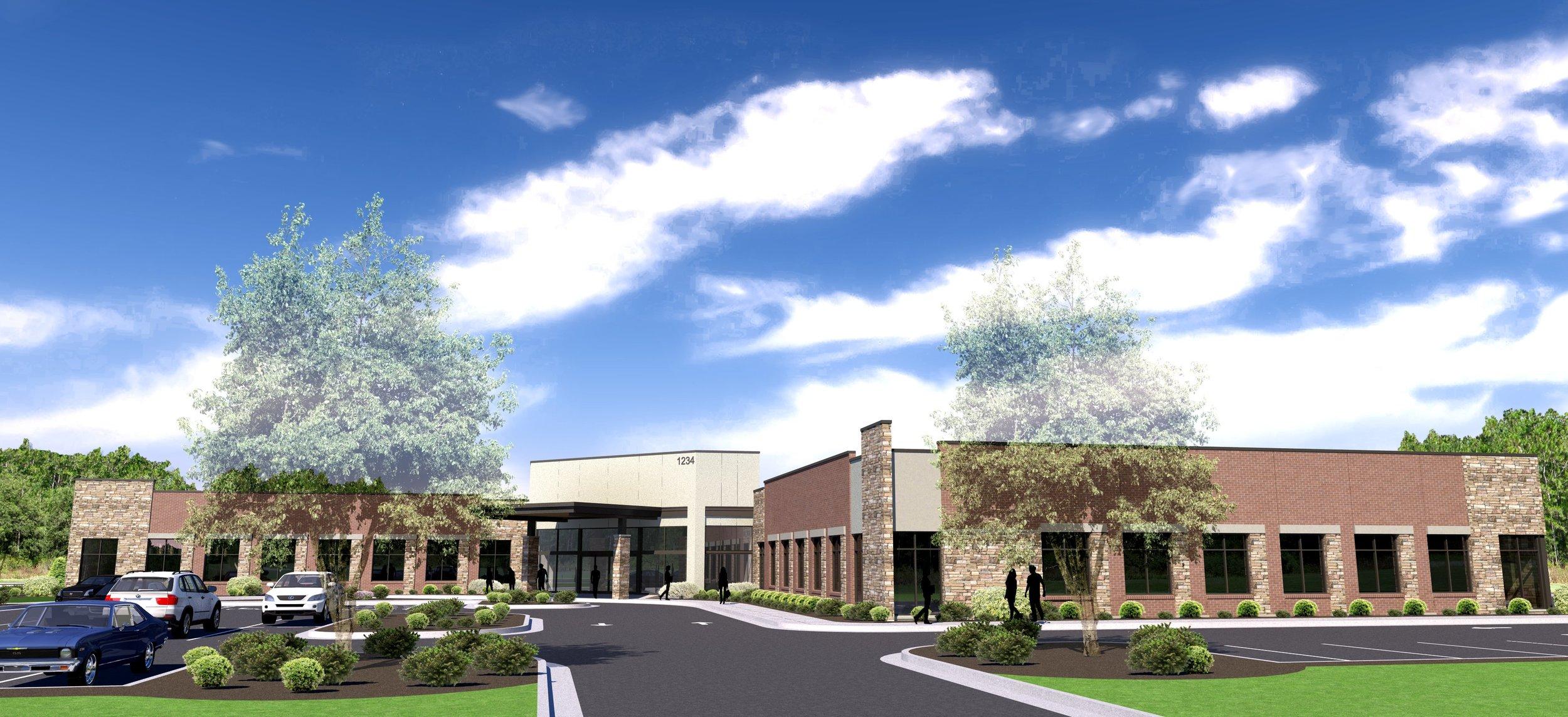 Medical office building Parking  entrance WIDE 20170821.jpg