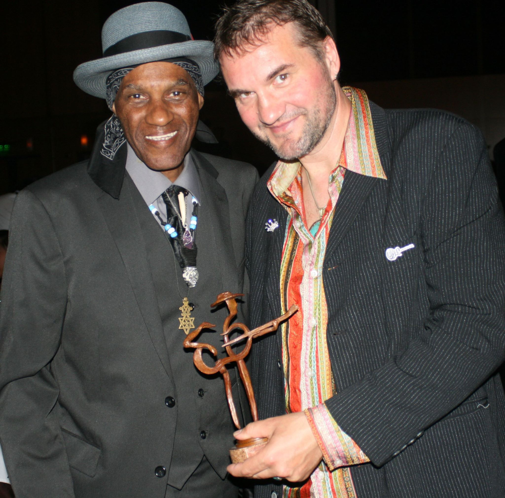 CYRIL NEVILLE AND THOMAS RUF - 2014 BLUES MUSIC AWARDS, MEMPHIS