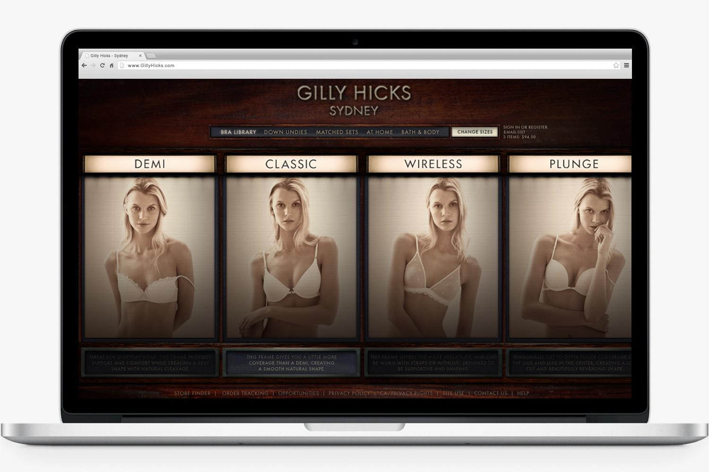 GillyHicks.com - Early Concept - 2008