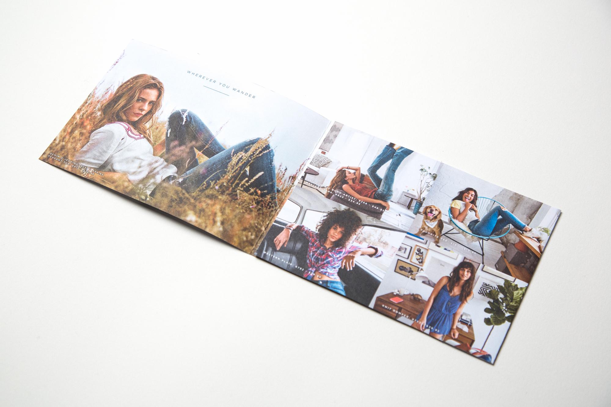 BTS '15 Women's Direct Mail