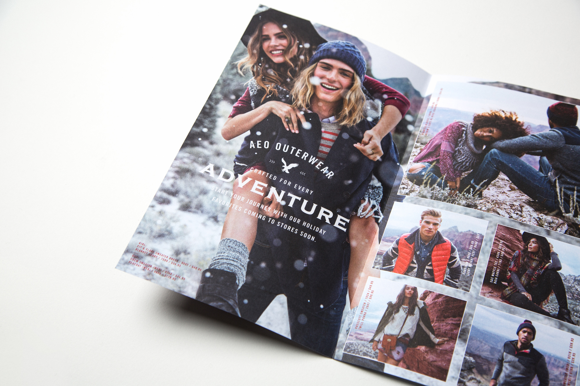 Holiday '15 Direct Mail