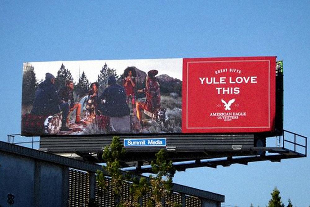 Holiday '15 National Billboards