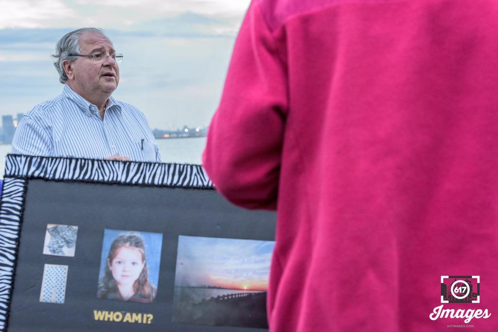 Speaker of the Massachusetts House of Representatives RobertDeleo led thecandlelight vigil on Saturday July 25, 2015