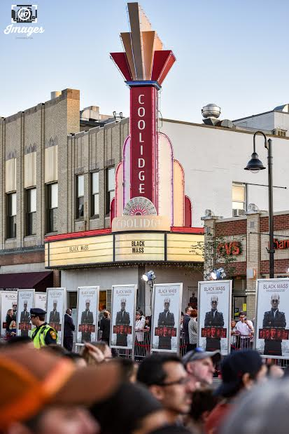 Tuesday, September 15, 2015 the streets out front of The Coolidge Theater were packed for the US premiere of Black Mass.