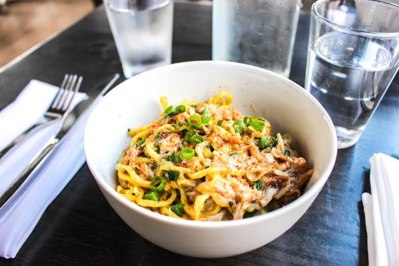 Crab & Garlic Noodle