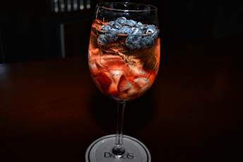 Red, White & Blue Sangria @ Davio's Boston