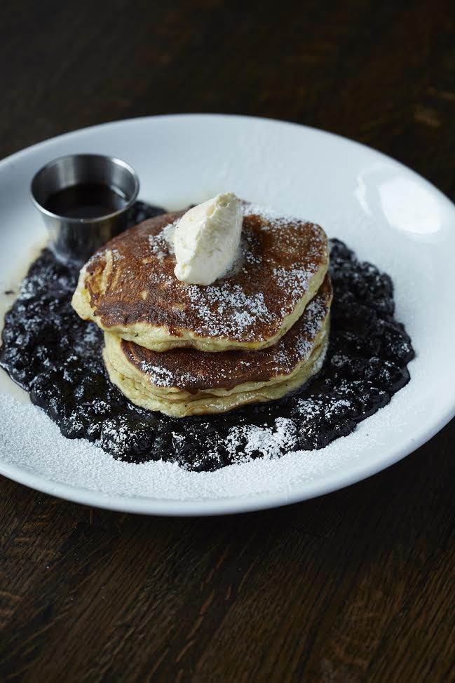 Blueberry Pancakes from City Tap House