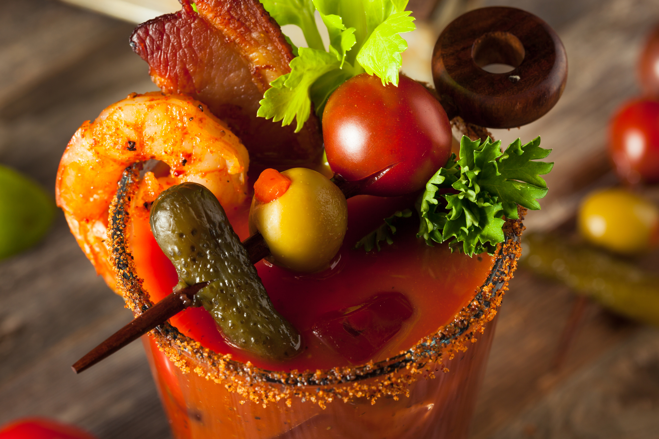 FUN FACT!! New Year's Day is also  National Bloody Mary Day !!