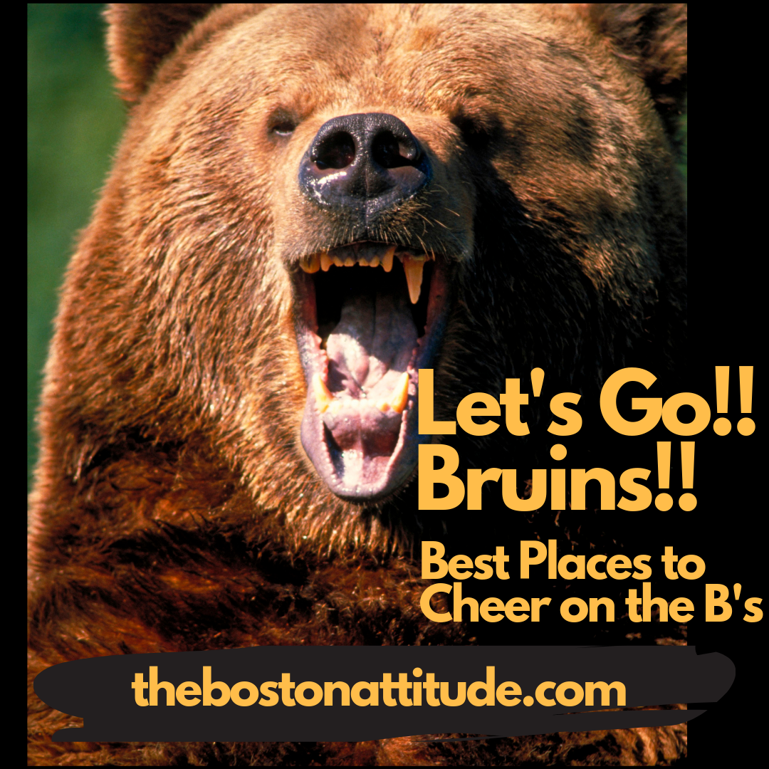 Best places around Boston to cheer on our beloved Bruins!!! - by: John Romard