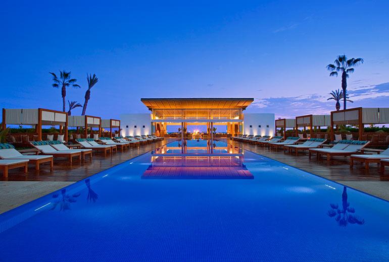 Hotel Paracas pool at night.jpg