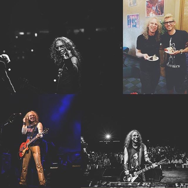 Hits just keep coming with my birthday yesterday and my guy Waddy's today💣 HBD to fellow Gemini and guitar #GOD🤘🏼🎂#WaddyWachtel #StevieNicks #KEEPBACK200FEET