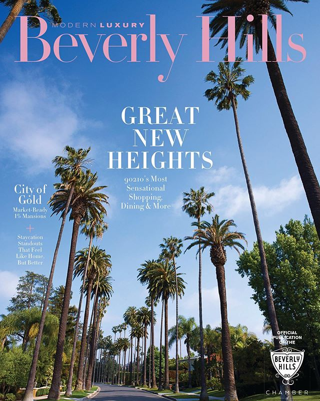 Believe me, I don't have it all figured out. All I do is try to do the next right thing.  In this month's issue of @modernluxurybh I was selected as one an Icon of Beverly Hills🤓 Better yet, I got to shoot a handful of the other selected Icons🌴  #BeverlyHills #California #ModernLuxury #Magazine #July #2019