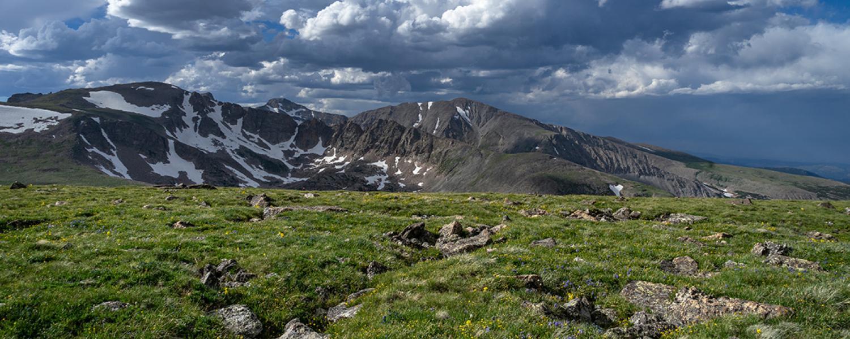 Niwot Ridge (University of Colorado photo)
