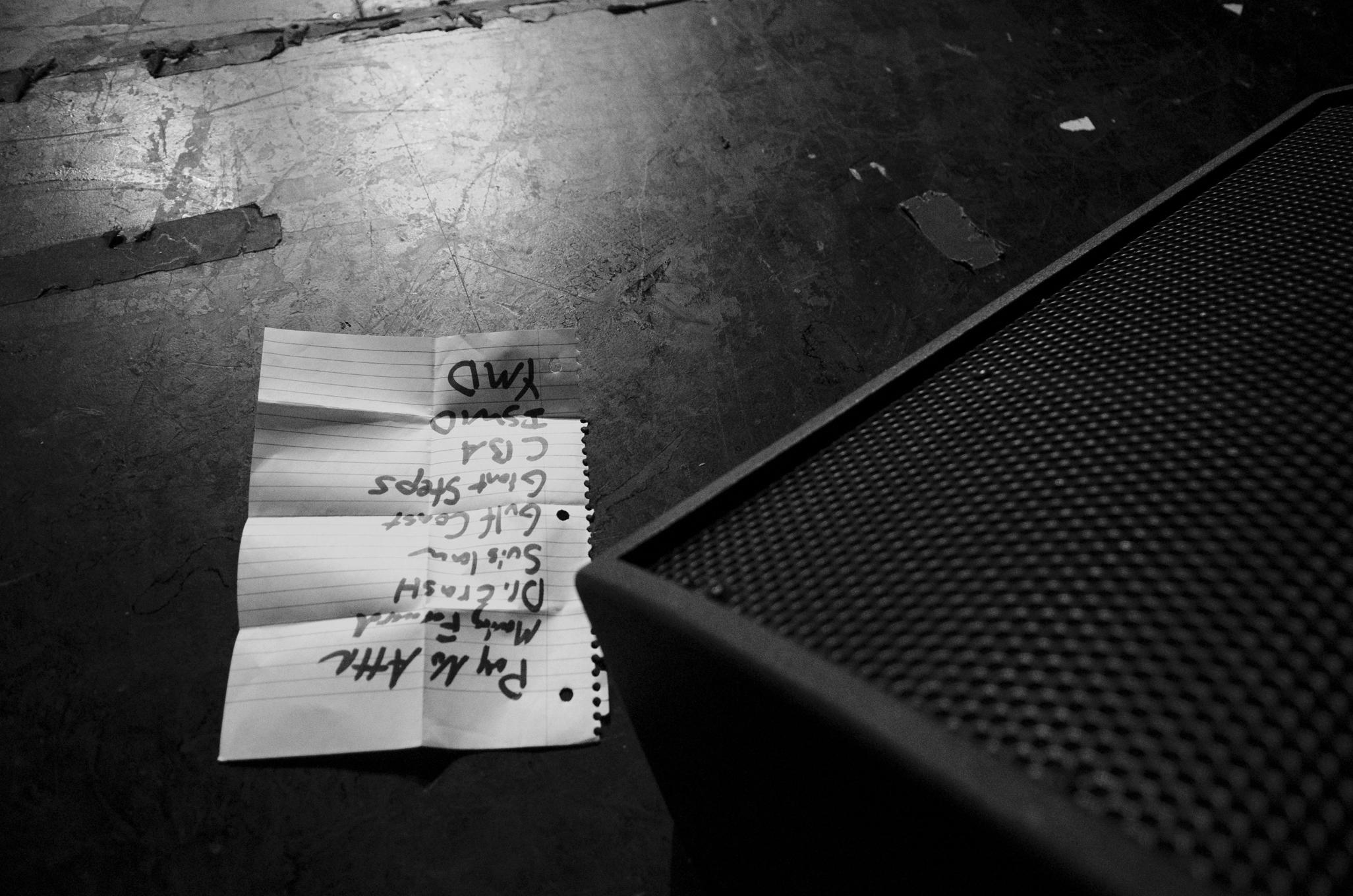 The Quitters set list at Hard Rock Live, Las Vegas. 5-18-14
