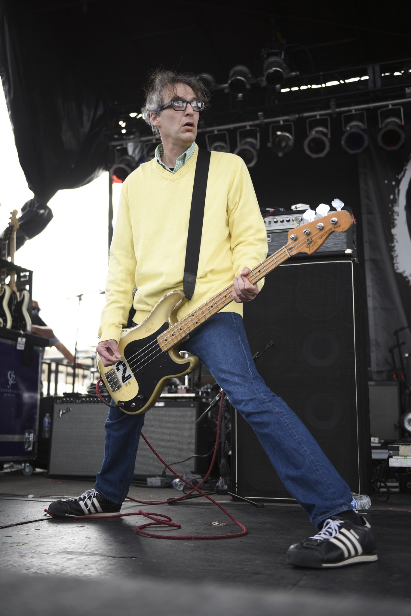 The Muffs played a set at Punk Rock Bowling in downtown Las Vegas