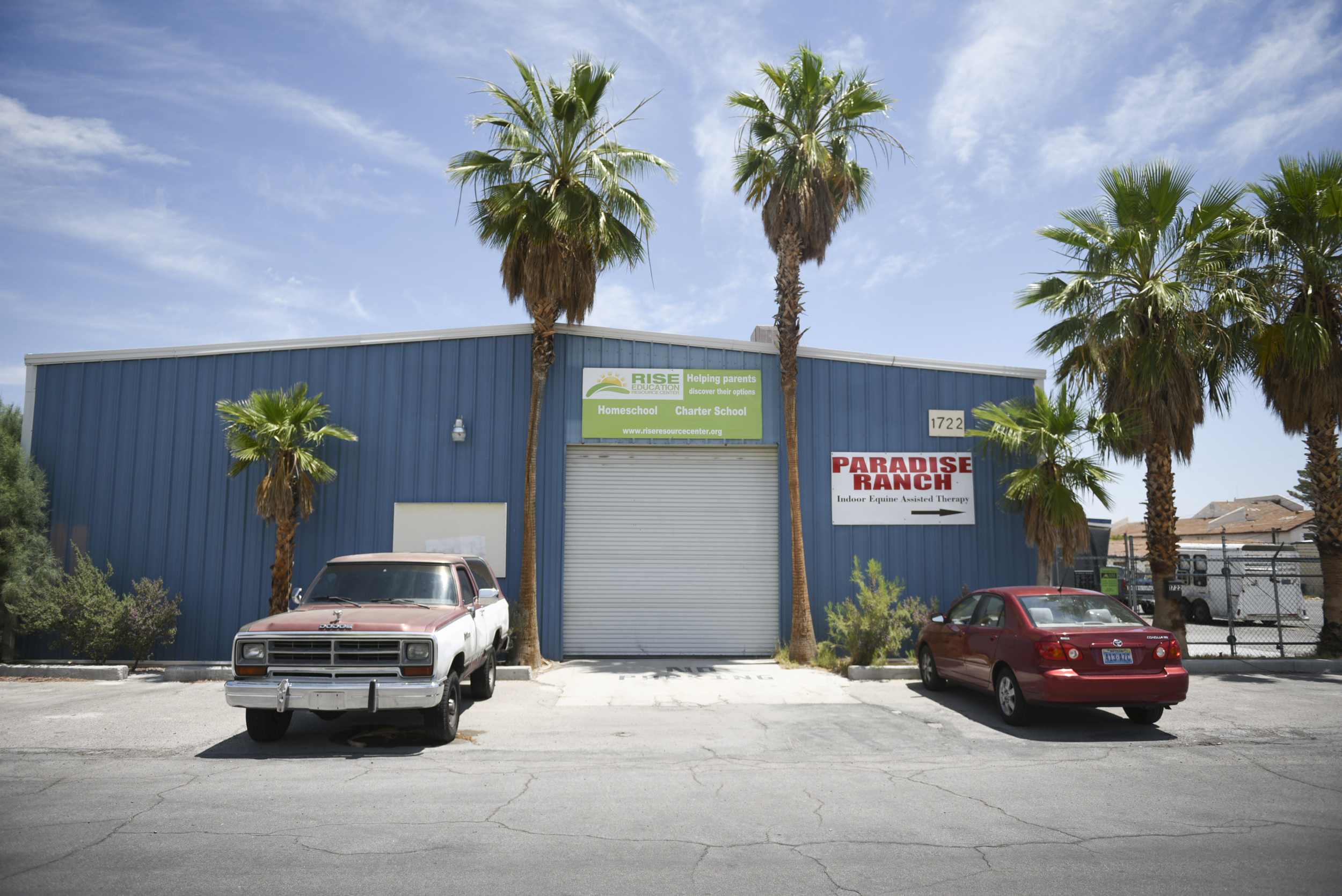 Paradise Ranch at 1722 Primrose Path in Las Vegas is shown Wednesday, June 3, 2015. (Jason Ogulnik/Las Vegas Review-Journal)