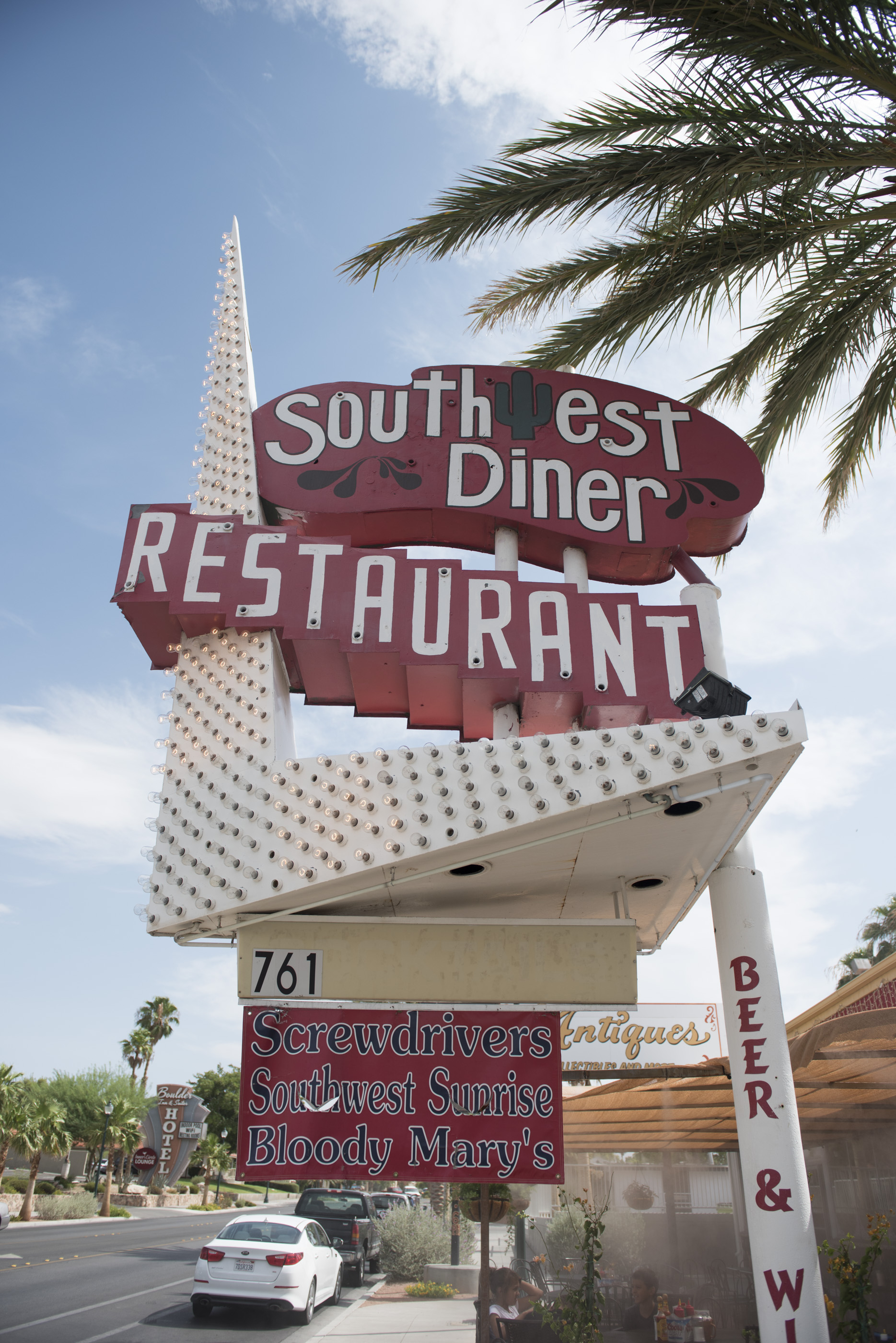 Southwest Diner at 761 Nevada Highway in Boulder City is shown, Saturday, July 18, 2015.(Jason Ogulnik/Las Vegas Review-Journal)