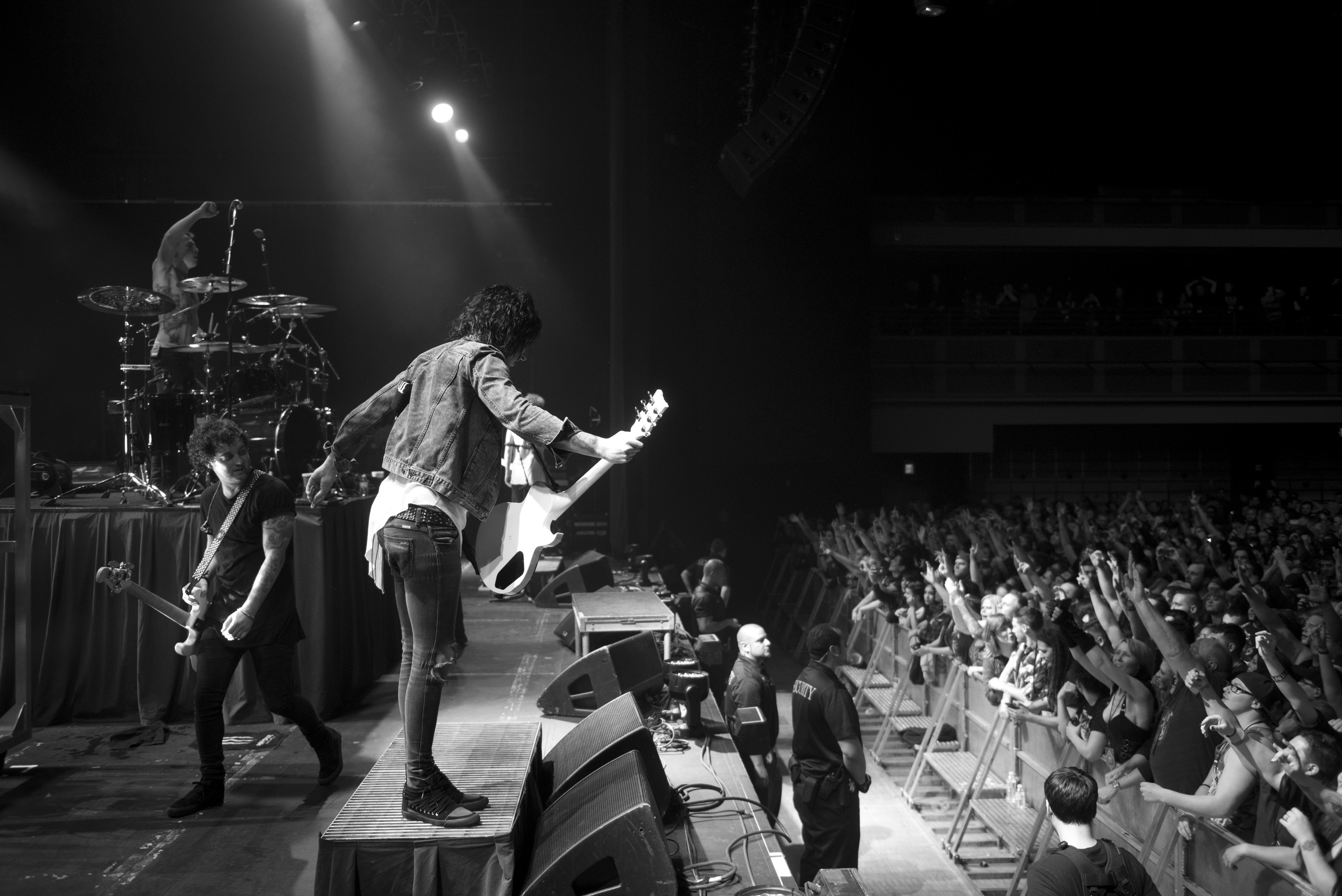 Asking Alexandria performs at The Joint at Hard Rock Hotel & Casino in Las Vegas Saturday, Feb. 6, 2016. Photo by Jason Ogulnik