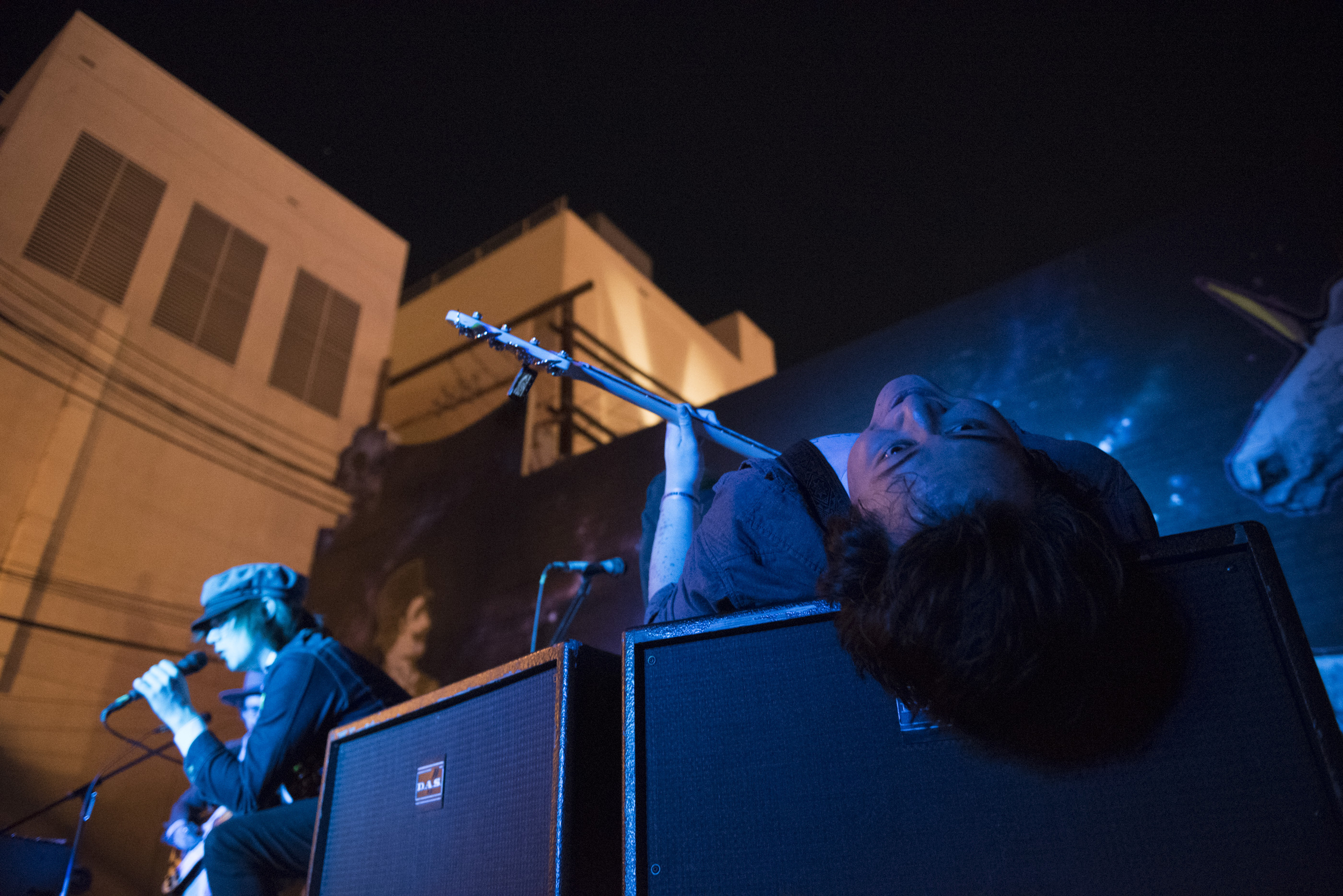 The Astaires performs at Beauty Bar during the third night of the Neon Reverb music festival in downtown Las Vegas Saturday, March 12, 2016. The multi-venue festival features nearly 100 performances over four nights. Jason Ogulnik/Las Vegas Review-Journal