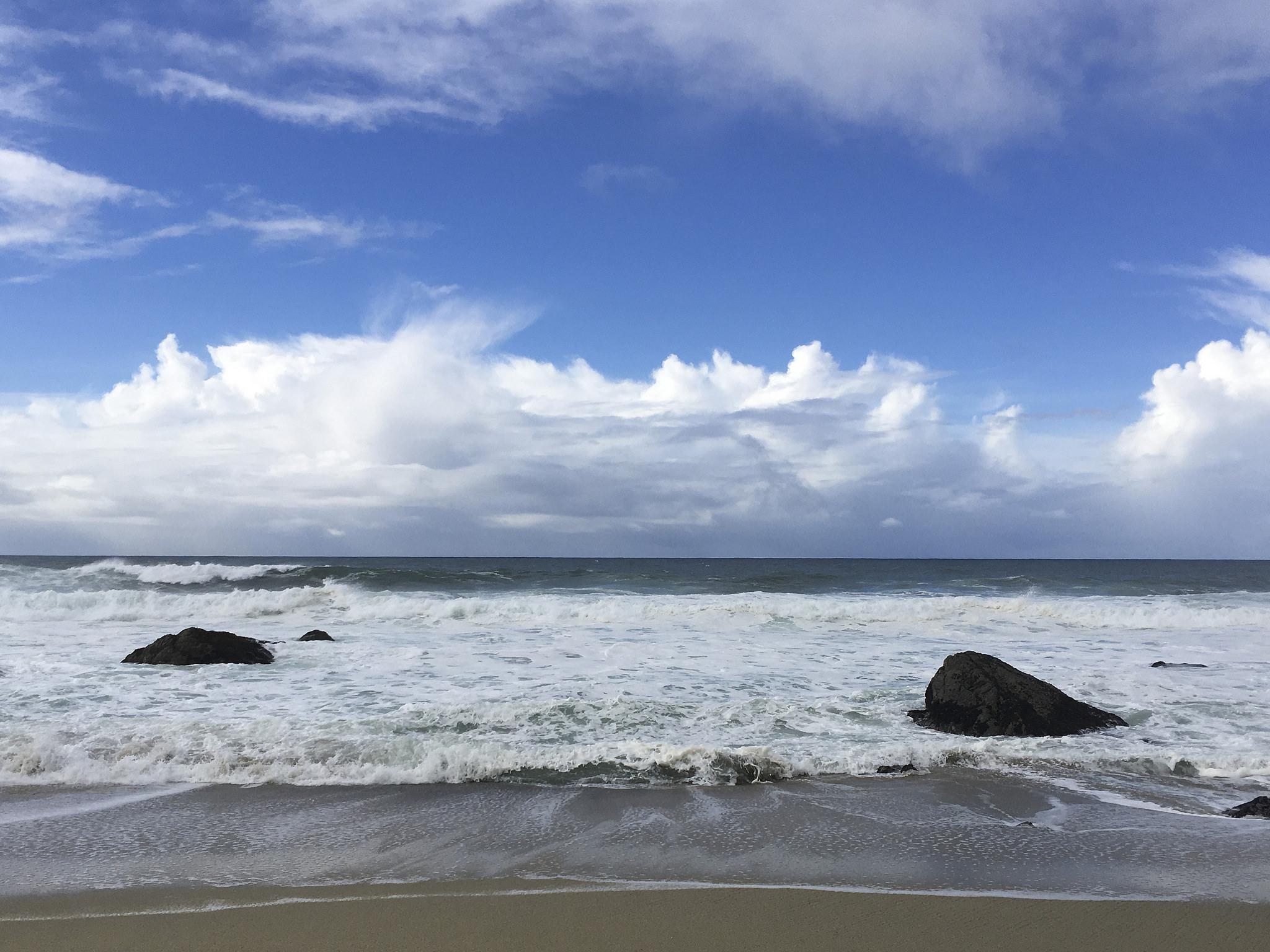 The Pacific Ocean is seen from Bodega Bay, Calif., Saturday, Nov. 26, 2016.