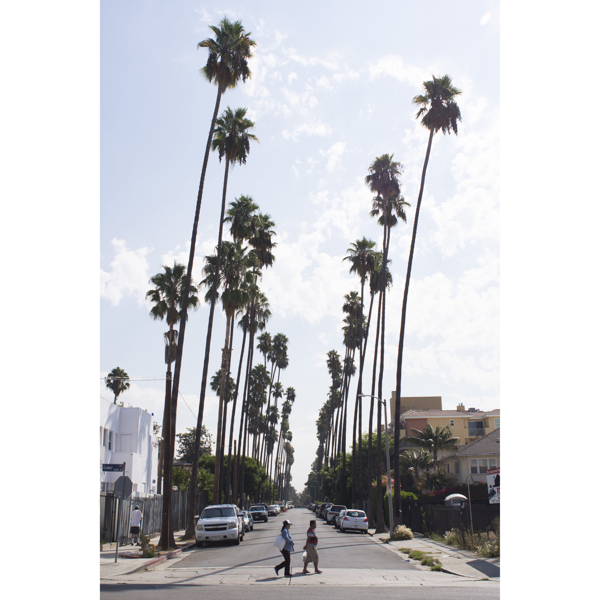 Gower Street and Carlton Way in Los Angeles, Calif.. Sept. 6, 2017.