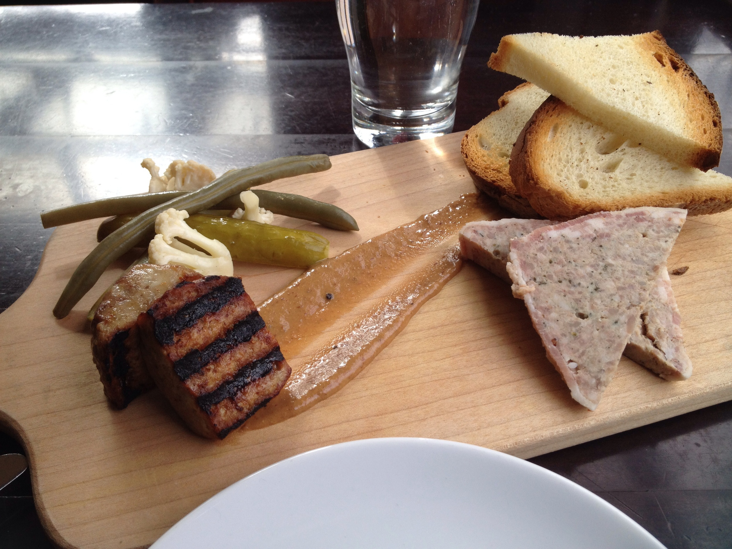 Ploughman's Plank from Chill Winston.
