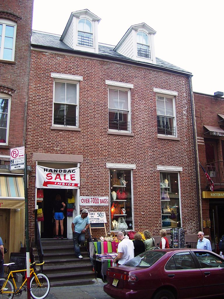 Federal - The Stephen Van Rensselaer House at 149 Mulberry Street, built in the Federal style in 1816.