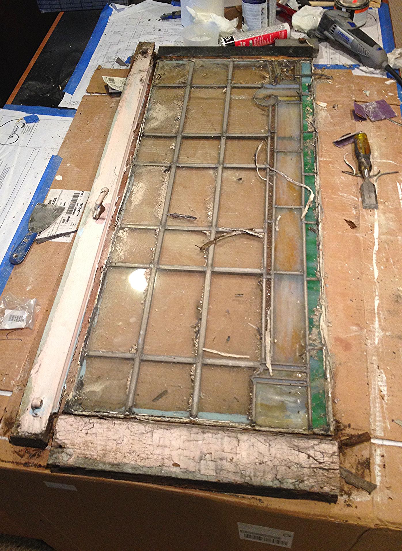 Stain Glas repair