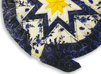 Folded Star Binding
