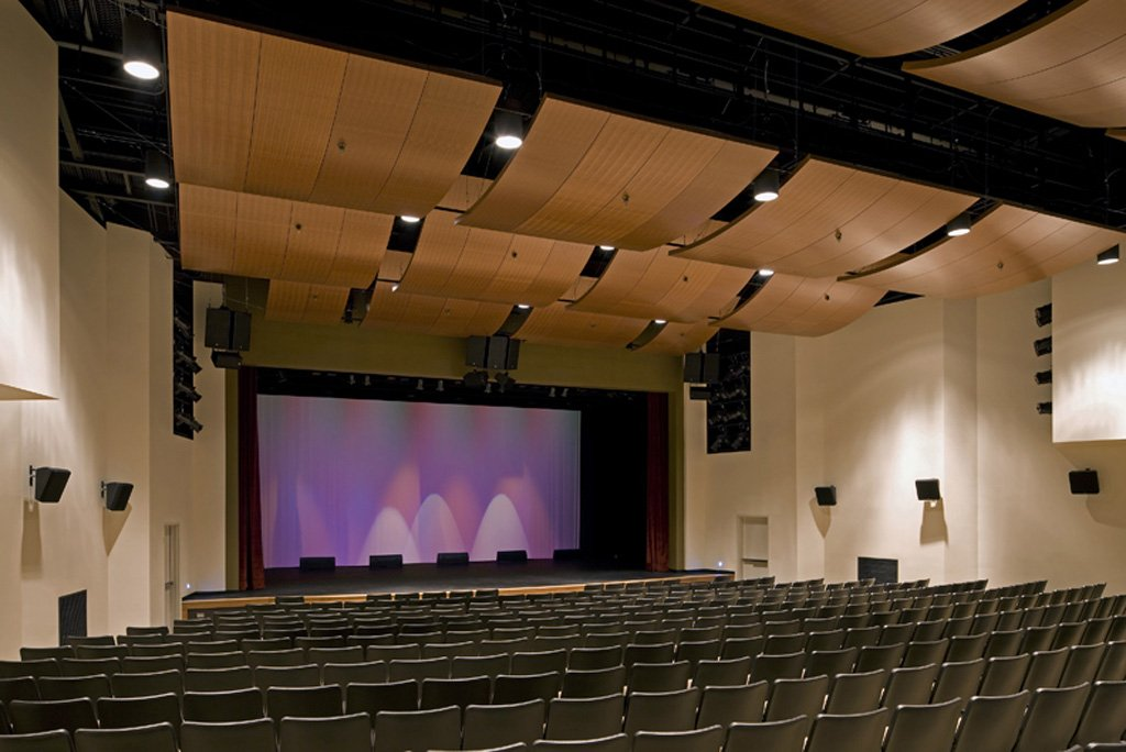 Oxnard College Theater, where the Choral Tales production is to be performed and video recorded