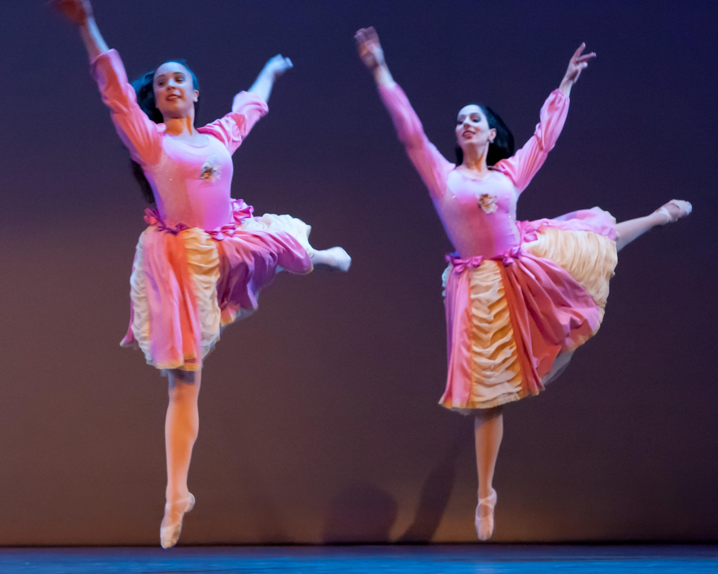"Sherene Melania , right (choreographer and dancer) as Princess in ""The Happy Man's Shirt"" (Photo: David Tuman)"