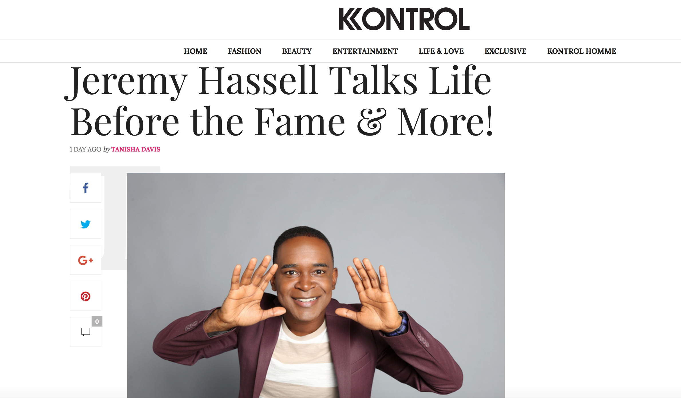 JeremyHassell Interview Kontrol Magazine