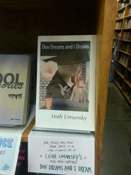 On display at Powells Books in Portland, OR
