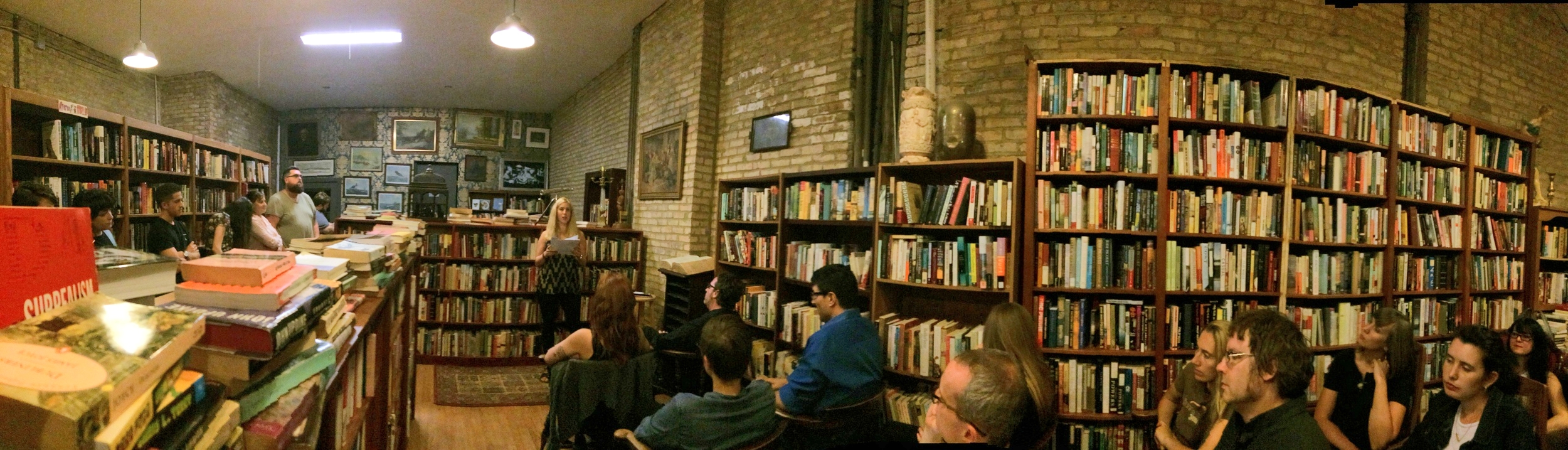 August 2015 - Unchartered Books, Chicago, IL