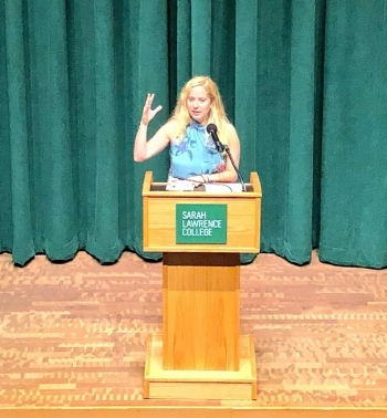 At the Sarah Lawrence College MFA Alumni Writing Festival - October 2018