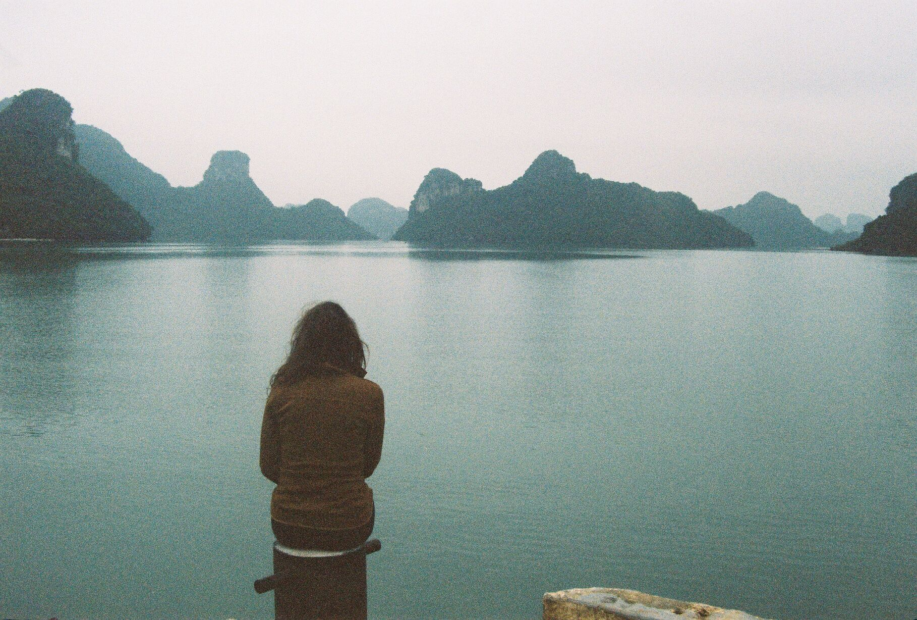 North side of Cat Ba