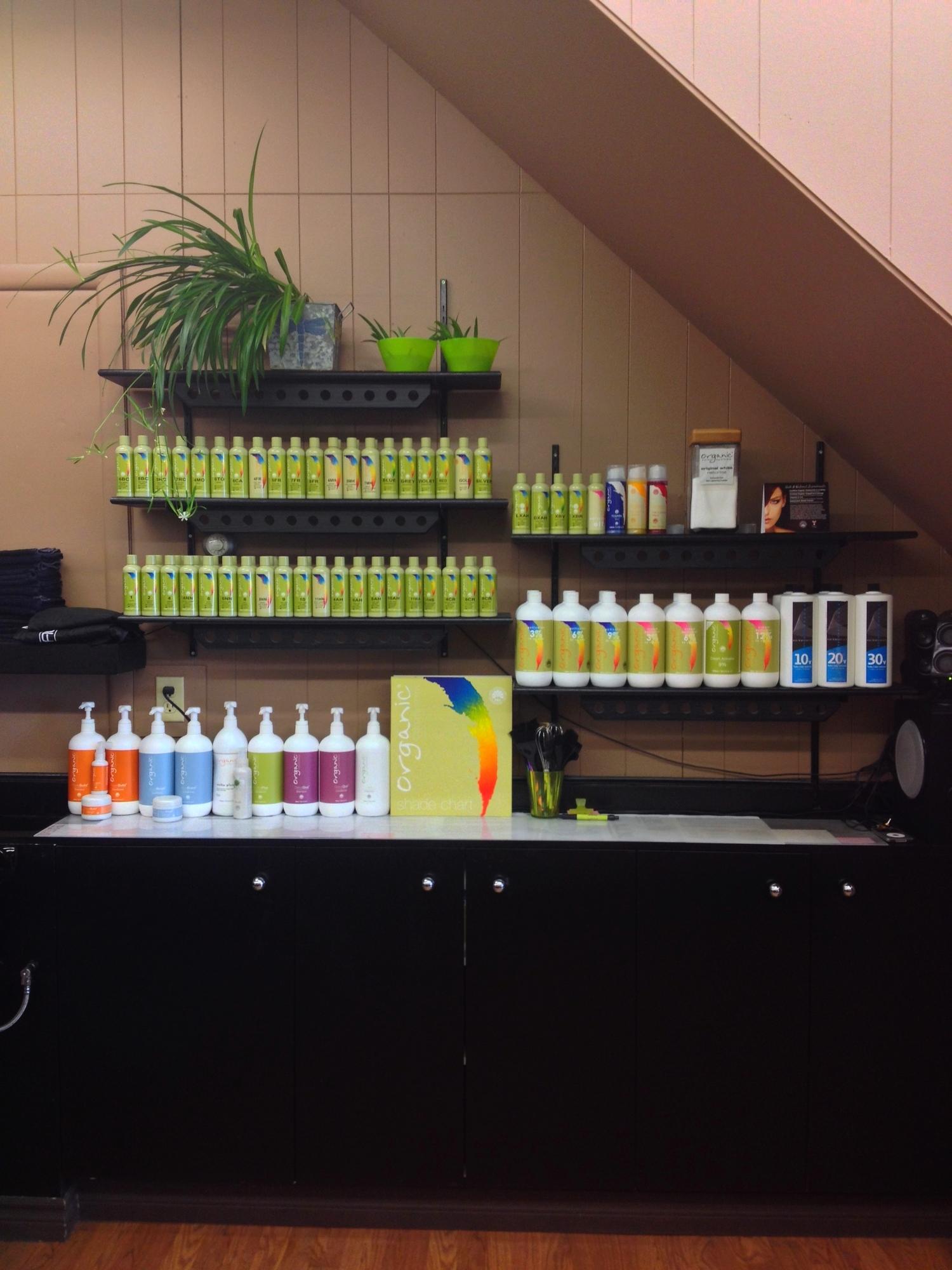 Organic Colour Systems Colour Bar
