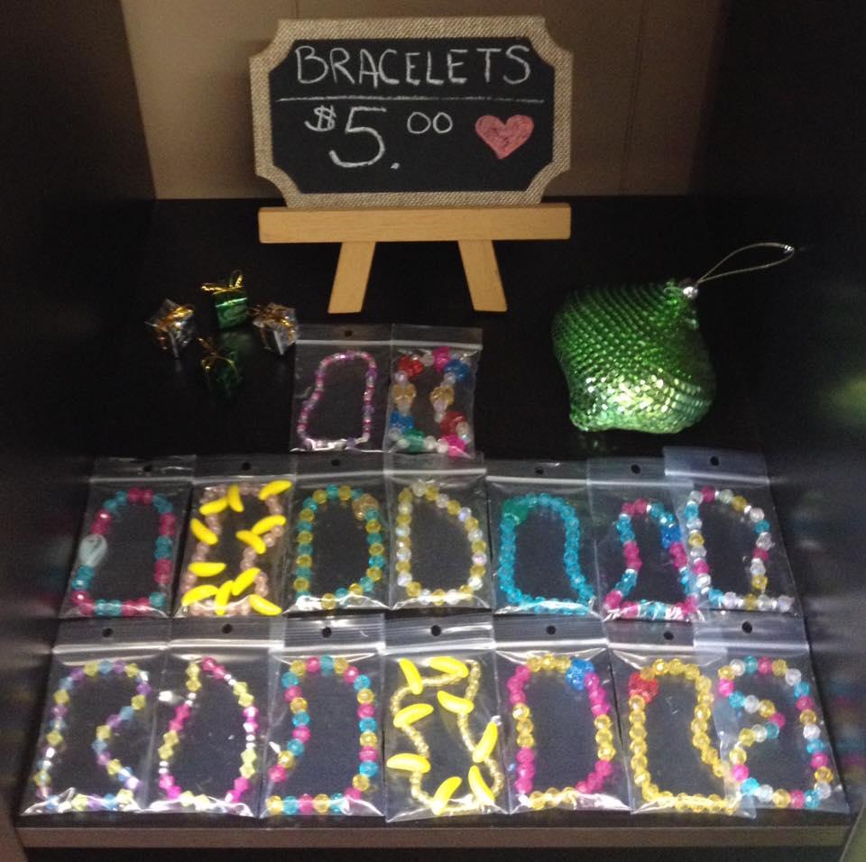 Kid-Made Bracelets