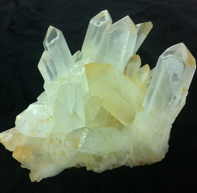 Killer Quartz for energizing,clarifying, and being real purdy, ya'll.