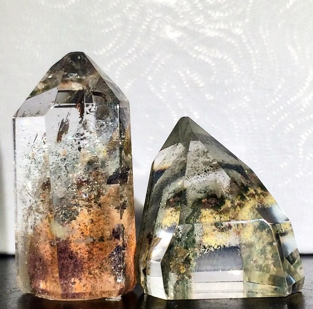 Chlorite Quartz for your peepers!