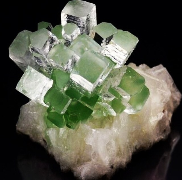 Apophyllite on Stillbite for your peepers to love on.