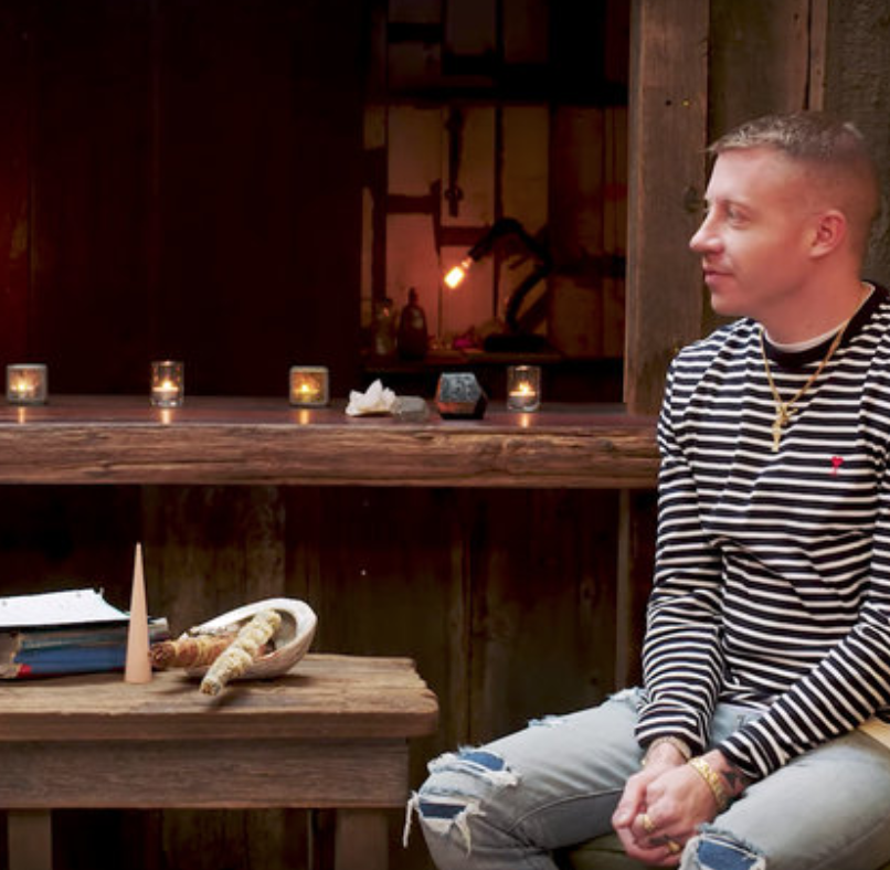 Watch Macklemore Gets His Astrological Chart Read: 'TBH I'm Saying You're Always Emo'